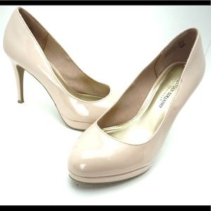 Christian Siriano light pink pumps size 8